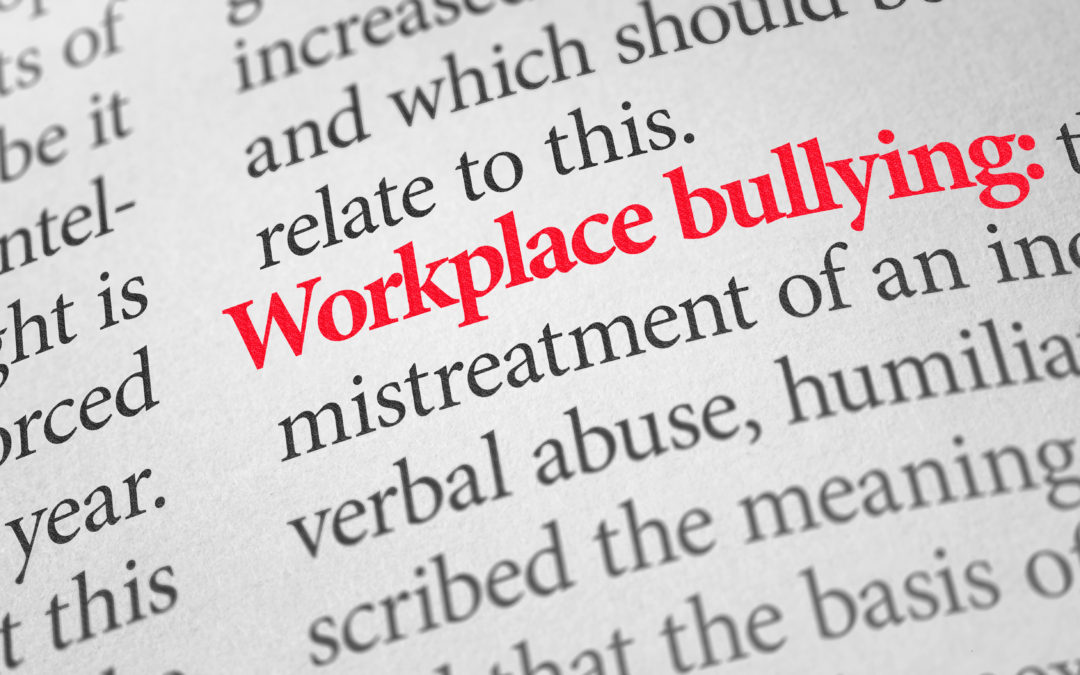 We Can Stop Workplace Bullying!