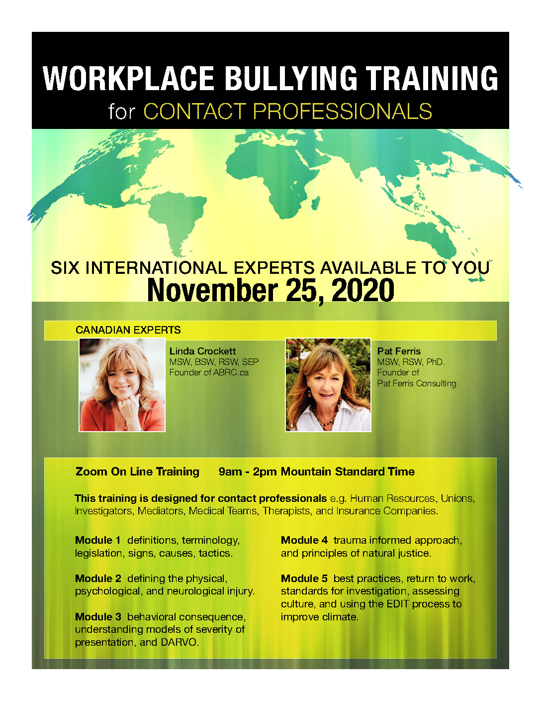 Work Together To Stop Workplace Bullying!